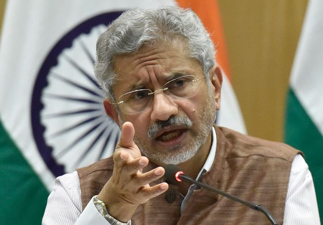 External Affairs Minister S Jaishankar in a file
