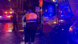 Siete heridos, varios graves, en Puente de Vallecas durante una