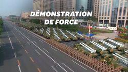 Pour les 70 ans du régime chinois, une démonstration de force et une référence à Hong