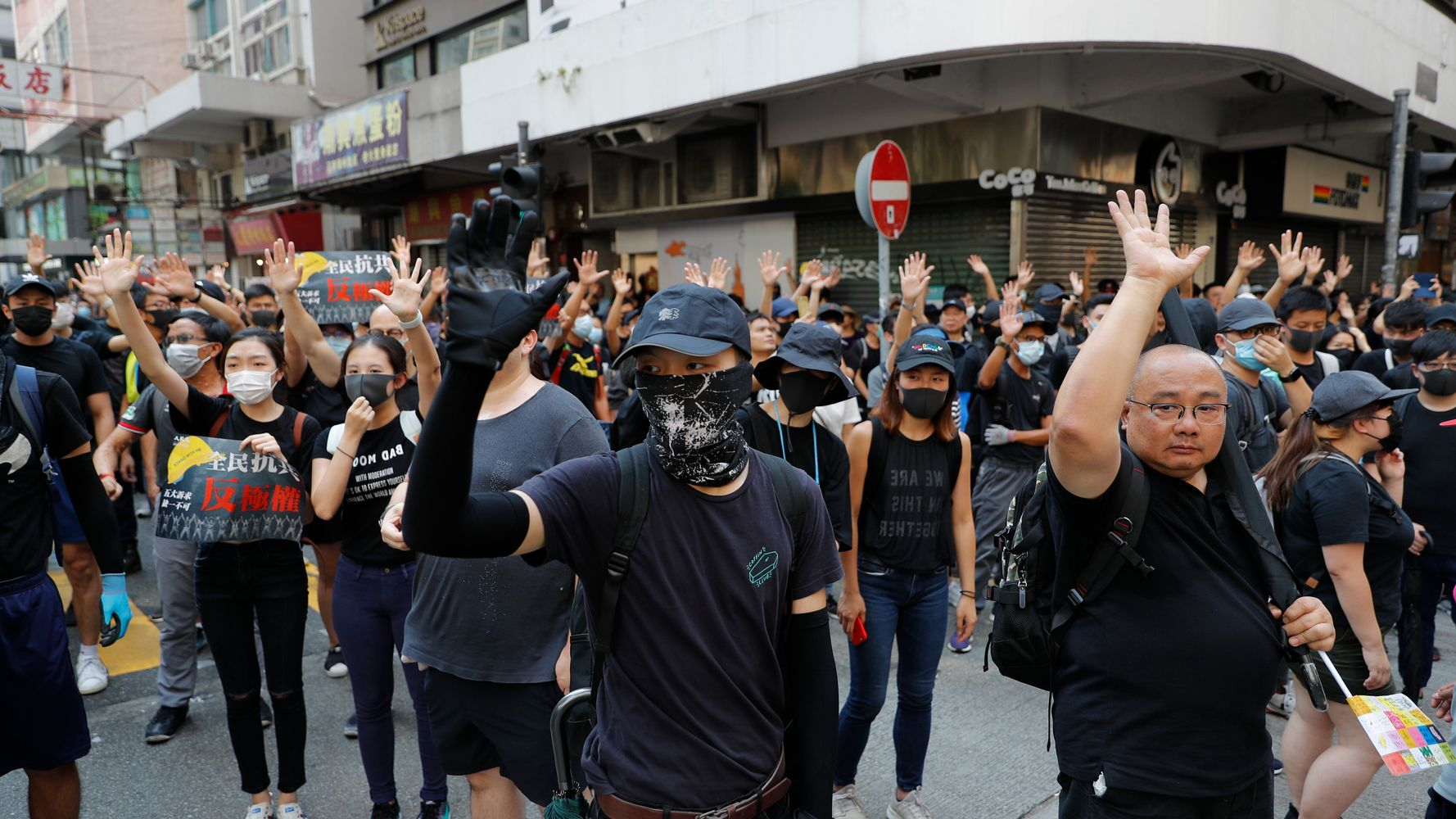 Westlake Legal Group 5d92fb8c210000330050eed1 Hong Kong Police Shoot Pro-Democracy Protester In Chest