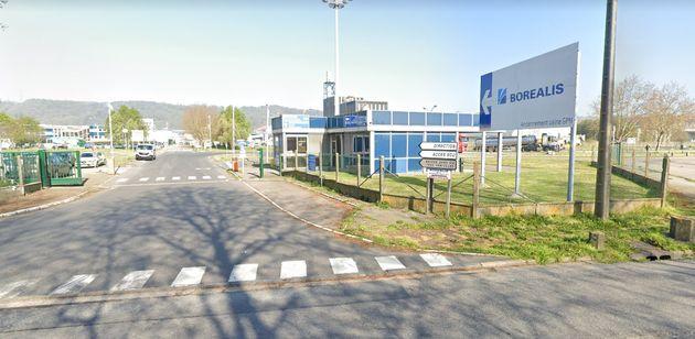 Classée Seveso seuil haut, l'usine Borealis du Grand-Quevilly, près de Rouen, a été mise à l'arrêt ce...