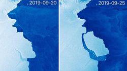Παγόβουνο 5πλασιο της Μάλτας αποκολλήθηκε από την Ανταρκτική - Αλλά όχι λόγω κλιματικής