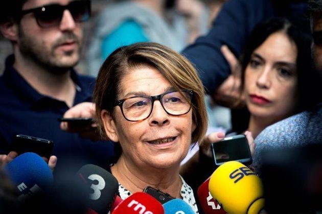 La concejal del Ayuntamiento de Madrid Inés Sabanés, en una imagen de