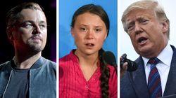 DiCaprio difende Greta dagli attacchi di Trump: