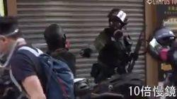 Pour la première fois la police blesse par balle un manifestant à Hong