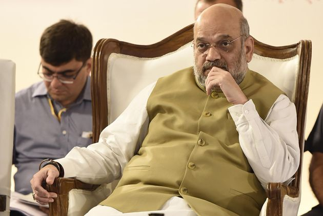 Home Minister Amit Shah in a file