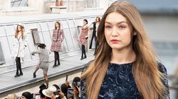 Comedian Gatecrashes Chanel's Paris Fashion Week Catwalk – Much To Gigi Hadid's