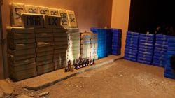 Guelmim: Saisie de 6,4 tonnes de résine de