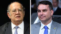 Gilmar atende a Flávio Bolsonaro e suspende investigação ligada a
