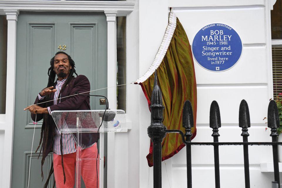 Το Λονδίνο τιμά τον Μπομπ Μάρλεϊ με την επιγραφή «Blue