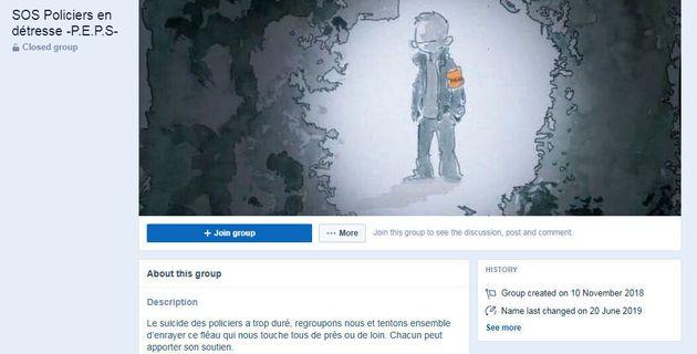 Le groupe SOS Policiers en détresse est devenu une véritable communauté d'entraide...