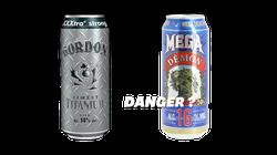 Est-il plus risqué de boire une bière à 16° ou des alcools