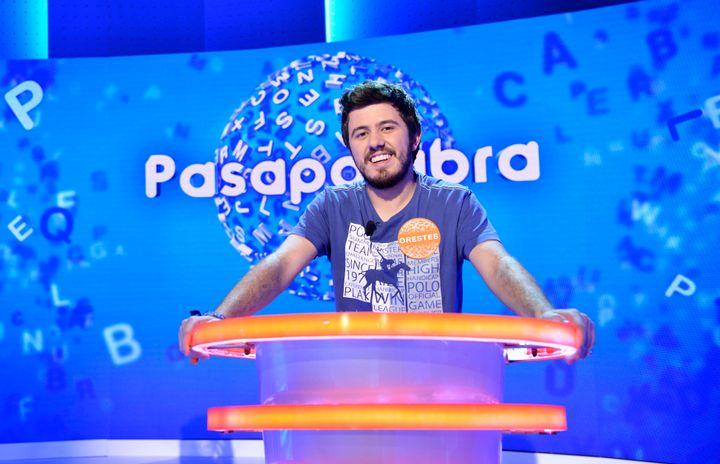 Orestes, concursante de 'Pasapalabra' (Telecinco)