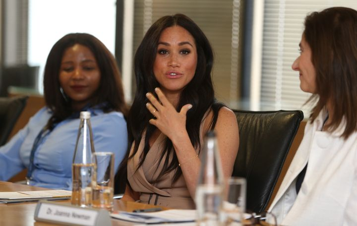 Meghan participated in a roundtable discussion at the University of Johannesburg on Oct. 1.