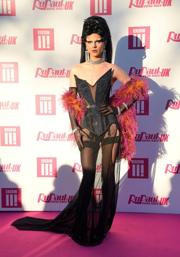 Gothy on the pink carpet at this year's Drag Race