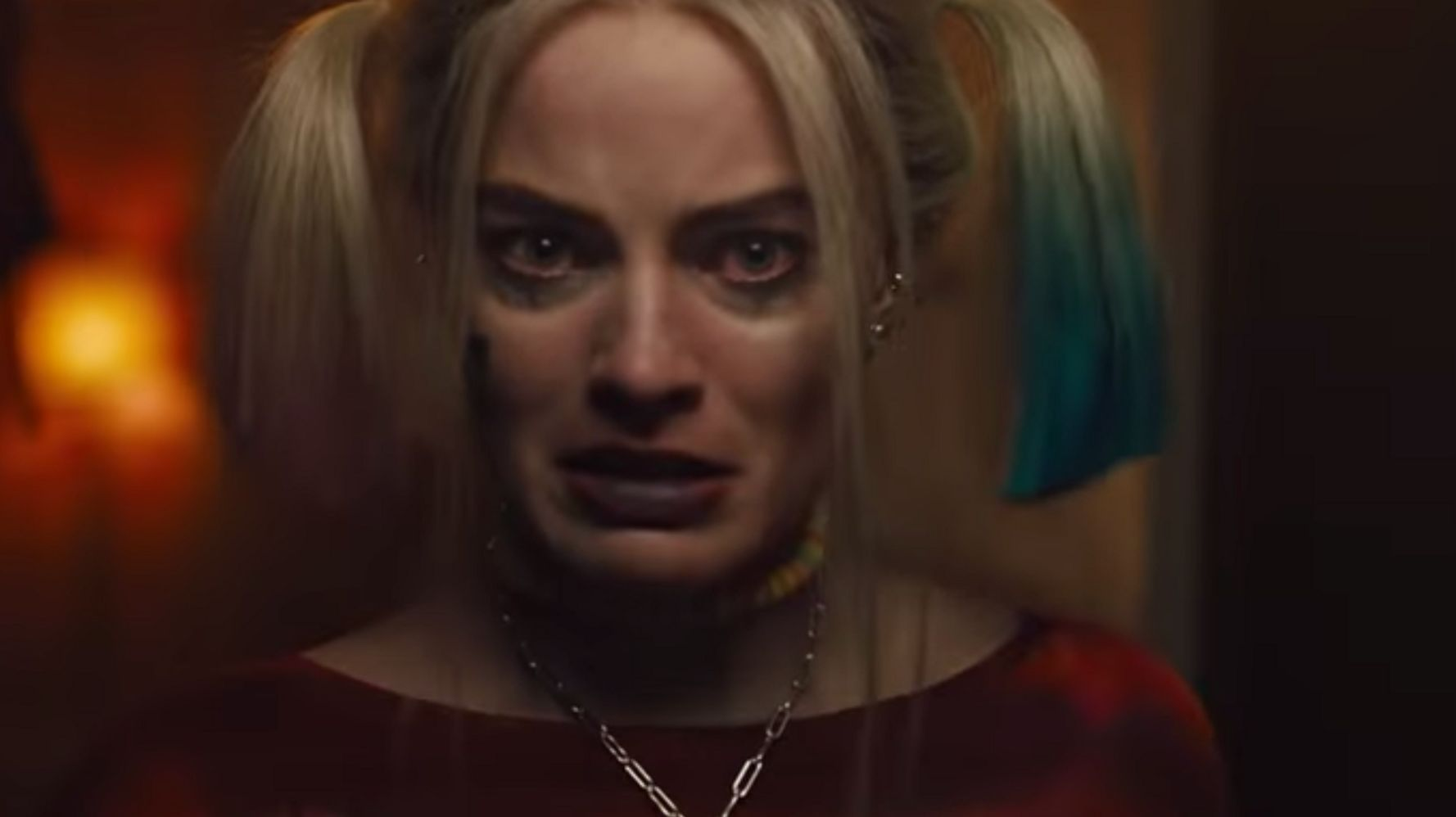 Image result for harley quinn cutting hai