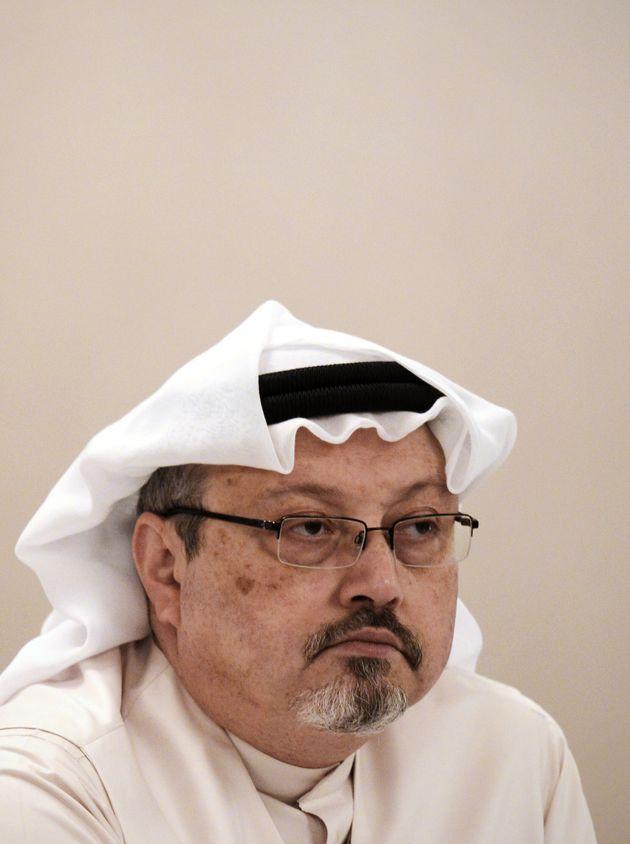 Jamal Khashoggi, en una conferencia enManama, en