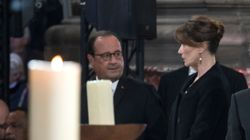 ¿Qué le dijo François Hollande a Carla Bruni en el funeral de Chirac para dejarla con esta