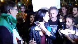 Una periodista de Telecinco y su cámara, atacados al término de la manifestación de
