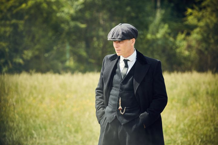 "Cillian Murphy in ""Peaky Blinders"""