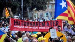Imágenes: Cataluña recuerda su