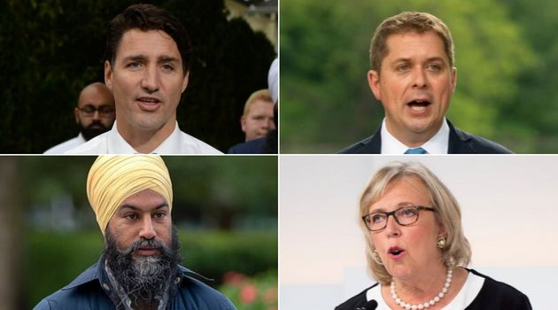 The federal Liberals, NDP and Greens responded to survey questions sent out by a group of environmental...
