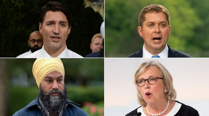 The federal Liberals, NDP and Greens responded to survey questions sent out by a group of environmental organizations. The Conservatives sent one response instead of offering answers to 10 specific questions.