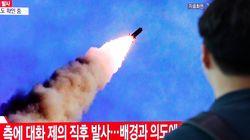 북한이 원산에서 미상 발사체를