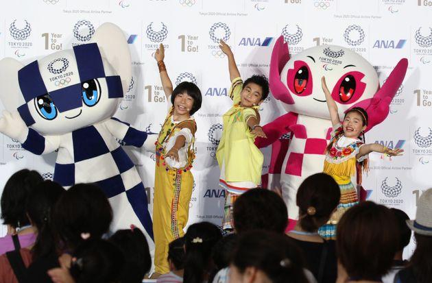「ANA東京2020オリンピック・パラリンピック開幕1年前イベント」