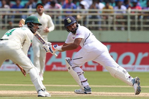 Rohit Sharma Hits First Half Century As Test Opener And Twitter Can't Stop Gushing Over Him | HuffPost India