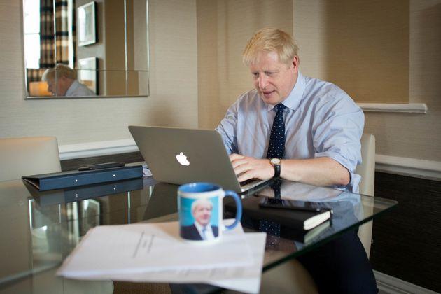 El primer ministro británico, Boris Johnson, el pasado lunes en