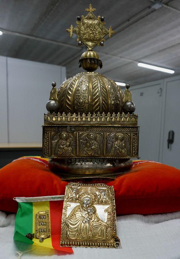 Une couronne éthiopienne d'une valeur inestimable, datant du 18e siècle, sera bientôt de retour à