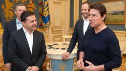 Tom Cruise Meets With Ukrainian President Amid Scandal: 'You're