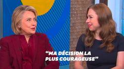 Ce qui a demandé le plus de courage à Hillary Clinton? Ne pas