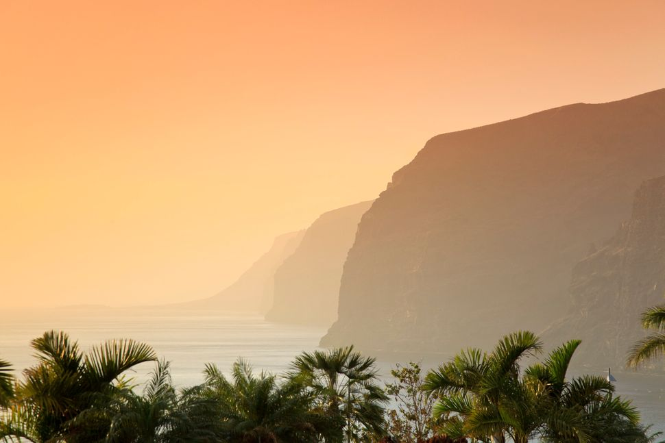 Imagen de la costa tinerfeña.