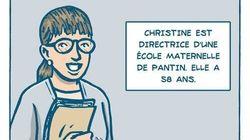 L'hommage en BD à Christine Renon, directrice d'école qui a mis fin à ses