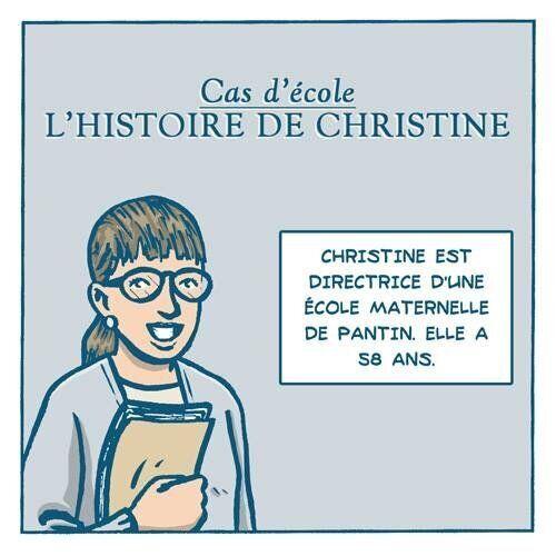 Hommage à Christine Renon en BD, signée Remedium.