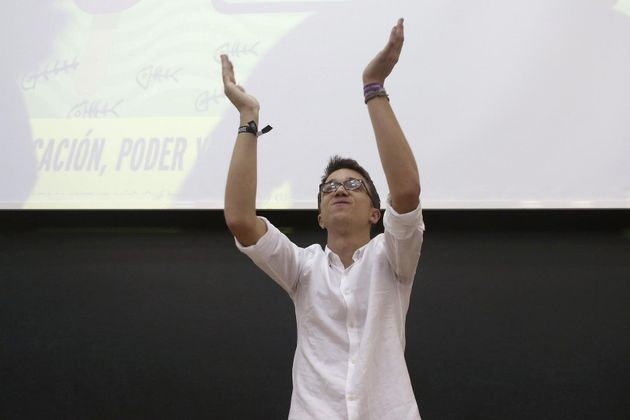 El líder de Más País, Íñigo