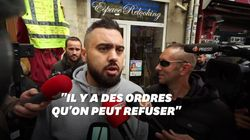 Éric Drouet s'est invité à la marche des policiers, mais ça n'a pas