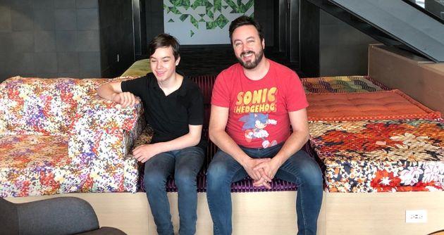 Patricia Paquin et Mathieu Gratton soulignent les 18 ans de leur fils de belle
