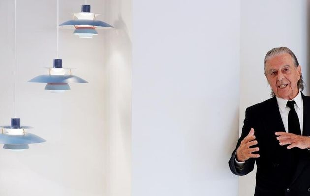 El arquitecto Ricardo Bofill durante la presentación del diseño del edificio residencial...