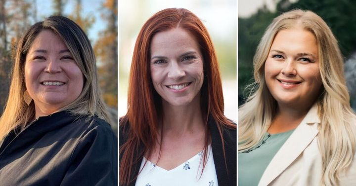 (From left to right) Paulie Chinna, Caroline Wawzonek and Caitlin Cleveland were three of nine elected female MLAs in the Northwest Territories' provincial election, Oct. 1, 2019. Only two women were elected to serve as MLAs in the last election in 2015.
