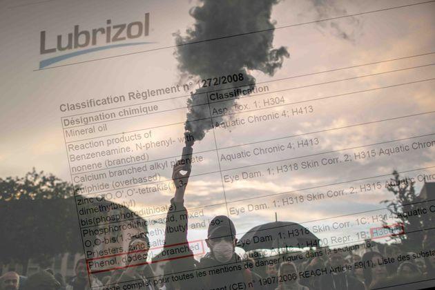 On a montré la liste des produits de Lubrizol à Fabrizio Pariselli, toxicologue au CNRS...
