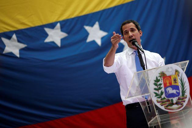 El líder opositor venezolano, Juan