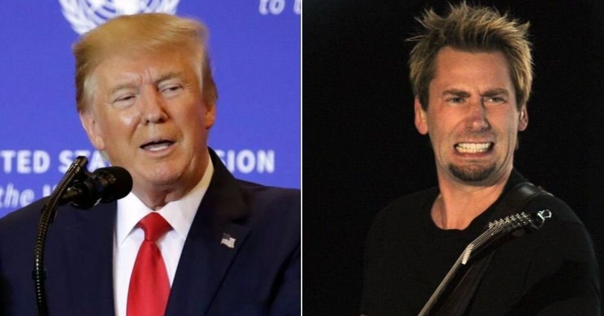 Donald Trump Drags Innocent Canadian Icons Nickelback Into Impeachment Mess - HuffPost Canada