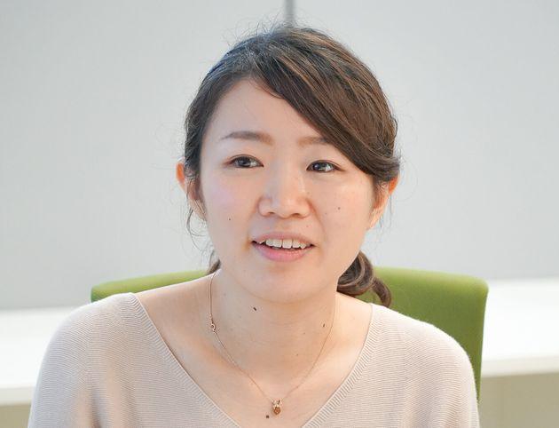 コーディネーターを務めた、宮本菜々子さん。アサヒ飲料マーケティング本部健康戦略部主任として、「はたらくアタマに」シリーズの開発に携わった。