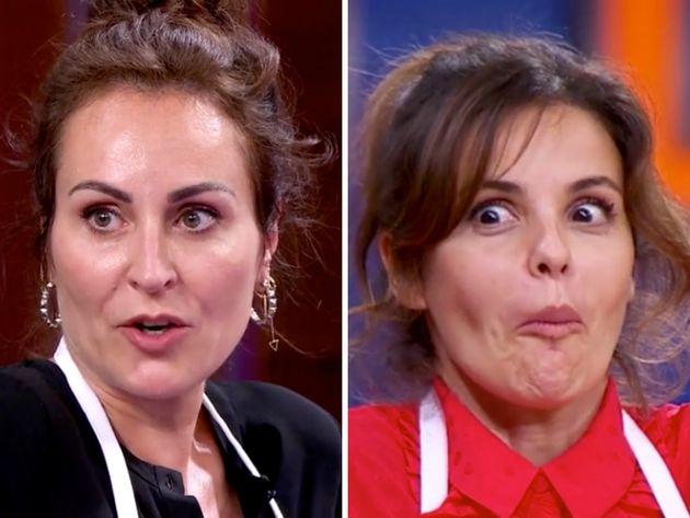 Ana Milán y Marta Torné, en 'MasterChef