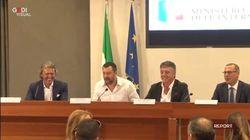 Nel video inedito di Report, Salvini e Savoini insieme a