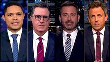Late-Night-Hosts Anzugehen Trump 's