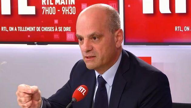 Jean-Michel Blanquer sur RTL mercredi 3